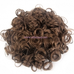 Hairpiece Factory In Pretoria Synthetic Hair Bun Brown Curl Waving Ponytails