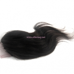 China Brazilian Hair Suppliers 4x4 8 Inch Lace Closure Hair Toupee Natural Straight Hair Extensions