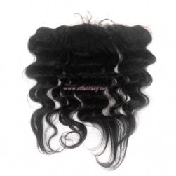 Ombre Brazilian Hair Extensions 13x4 Lace Closure Natural Black Body Wave Hair Toupee
