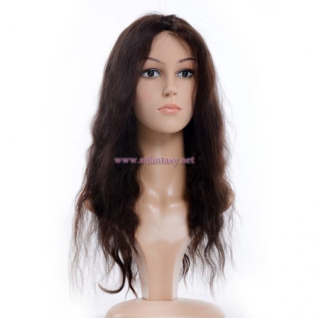 Lace Front Wigs Human Hair Wholesale Yaki Long Remy Human Hair Wig For Women c3368e6c5a