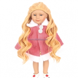 Stfantasy Wholesale American Doll Wigs Blonde Long Curly Braid Wig For Dolls Under 10 Dollars