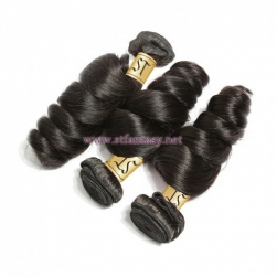 ST Fantasy Indian Loose Wave 3Bundles Human Virgin Hair Weft