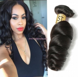 ST Fantasy Brazilian Loose Wave Hair 4Bundles African American Hairstyles