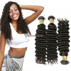 ST Fantasy Deep Wave Brazilian Human Virgin Hair 3Bundles