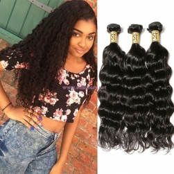 ST Fantasy Indian Deep Wave Hair Weave 4Bundles Human Virgin Hair