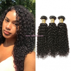 ST Fantasy  Peruvian Virgin Remy Jerry Curly Hair 3Bundles