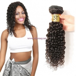 ST Fantasy Virgin Curly Hair Weave Unprocessed Human Hair 1Bundle