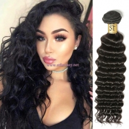 ST Fantasy Premium Virgin Remy Hair Deep Wave Weave 4Bundles