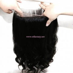 ST Fantasy 360 Lace Frontal Body Wave With 2Bundles Virgin Human Hair Weave