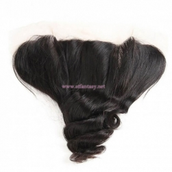 ST Fantasy Malaysian Loose Wave 4 bundles And Lace Frontal Closure With Baby Hair