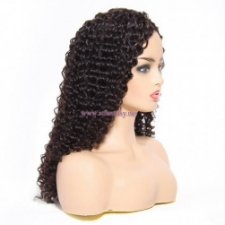 ST Fantasy Deep Wave Hair Wigs 100% Human Hair Wig 2 Colors