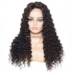 ST Fantasy Best Selling Lace Front Deep Wave Wigs Human Hair 4 Colors